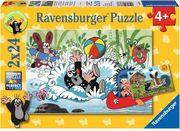 Ravensburger Spiel - Urlaub mit Maulwurf und seinen Freunden, 2x24 Teile