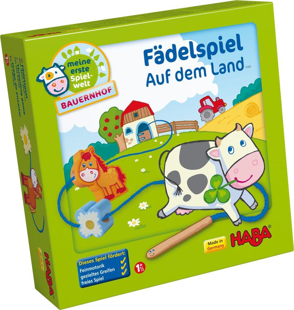 HABA - Fädelspiel Auf dem Land