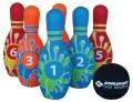 Schildkröt Kegel Set Bowling im Meshbag