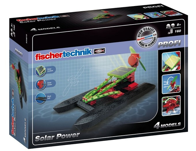 Image of fischertechnik 533875 PROFI Solar Power