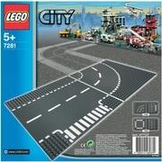 LEGO® City 7281 Kurve / T-Kreuzung