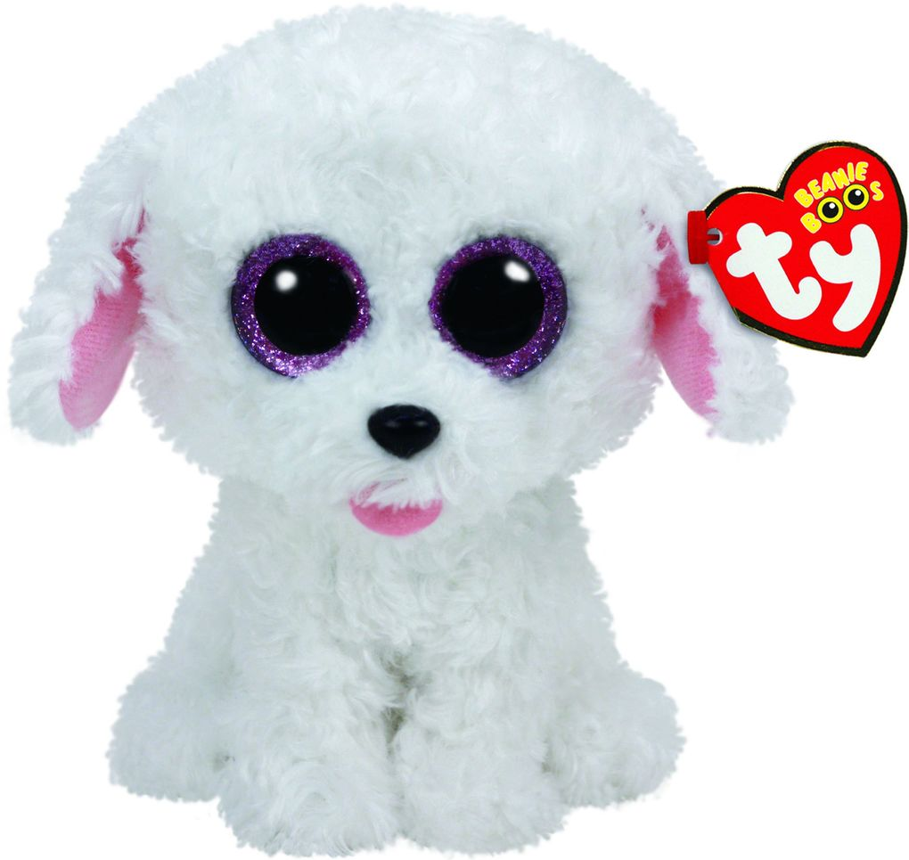 Pippie - Hund weiss 15 cm