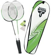Talbot Torro 449511 - Badminton Set 2-Attacker, im Thermobag