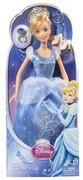 Mattel X2843 - Disney Princess Märchenglanz Prinzessin Cinderella, inklusive Ring