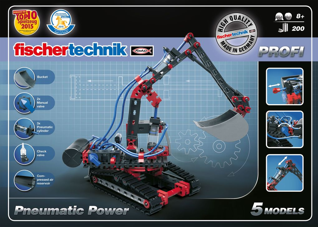 Image of fischertechnik 533874 PROFI Pneumatic Power
