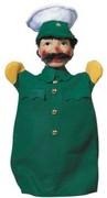 Kersa Micha 30110 - Handpuppen Polizist, grün