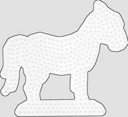 HAMA Bügelperlen Midi - Stiftplatte Pferd