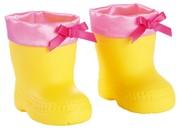 Bayer Design 73102 - Regenstiefel für Puppen, gelb