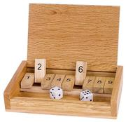 Würfelspiel Shut the box