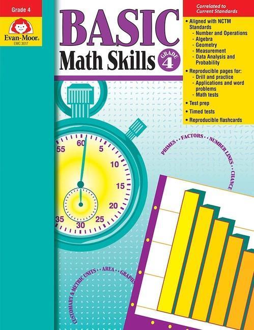 Basic Math Skills Grade 4 als Taschenbuch