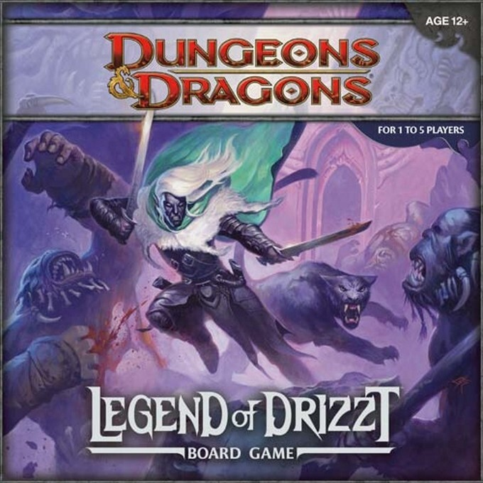 Image of Pegasus Spiele WOC35594 - Legend of Drizzt: A Dungeons & Dragons Board Game