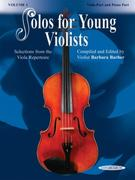 Solos for Young Violists, Vol 1: Selections from the Viola Repertoire