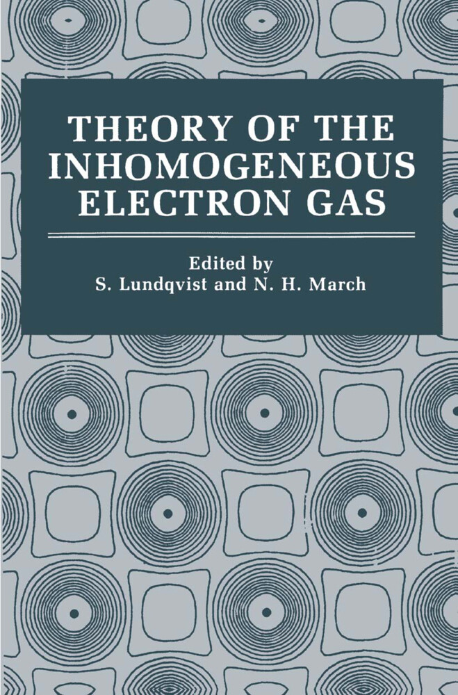 Theory of the Inhomogeneous Electron Gas als Buch