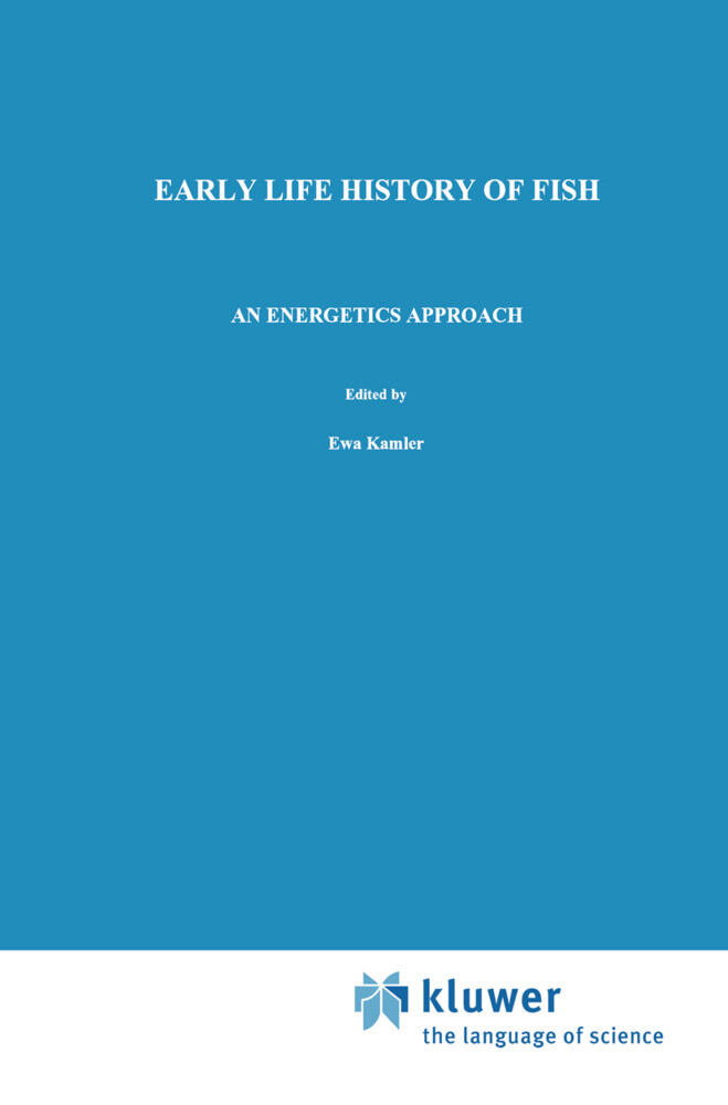 Early Life History of Fish als Buch