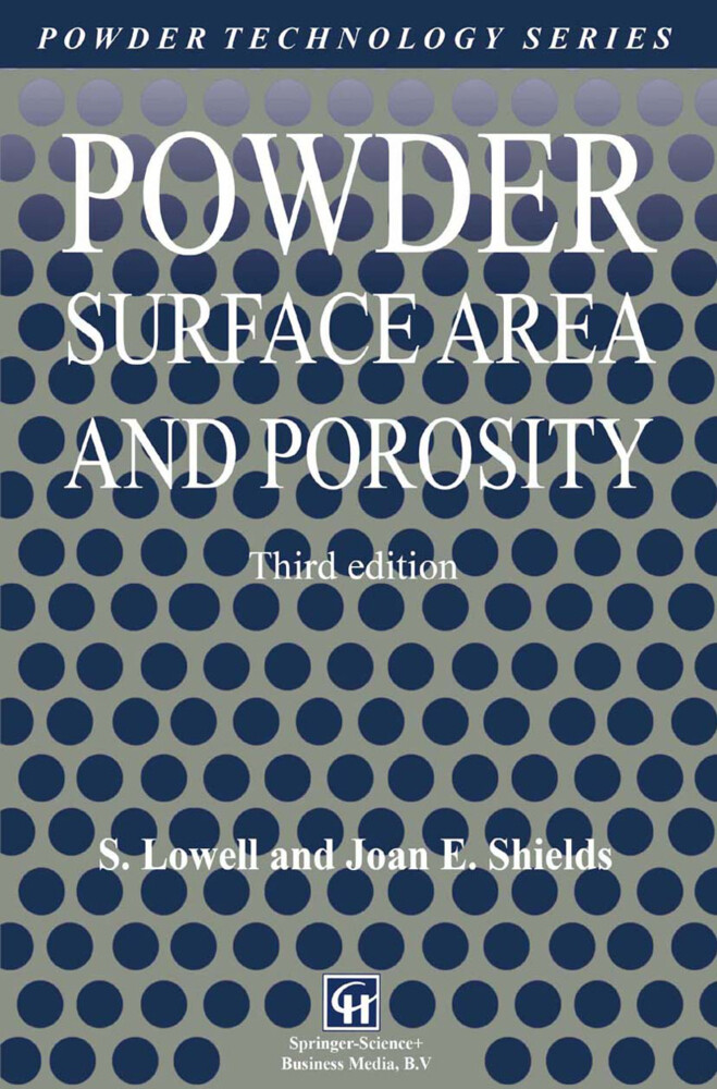 Powder Surface Area and Porosity als Buch