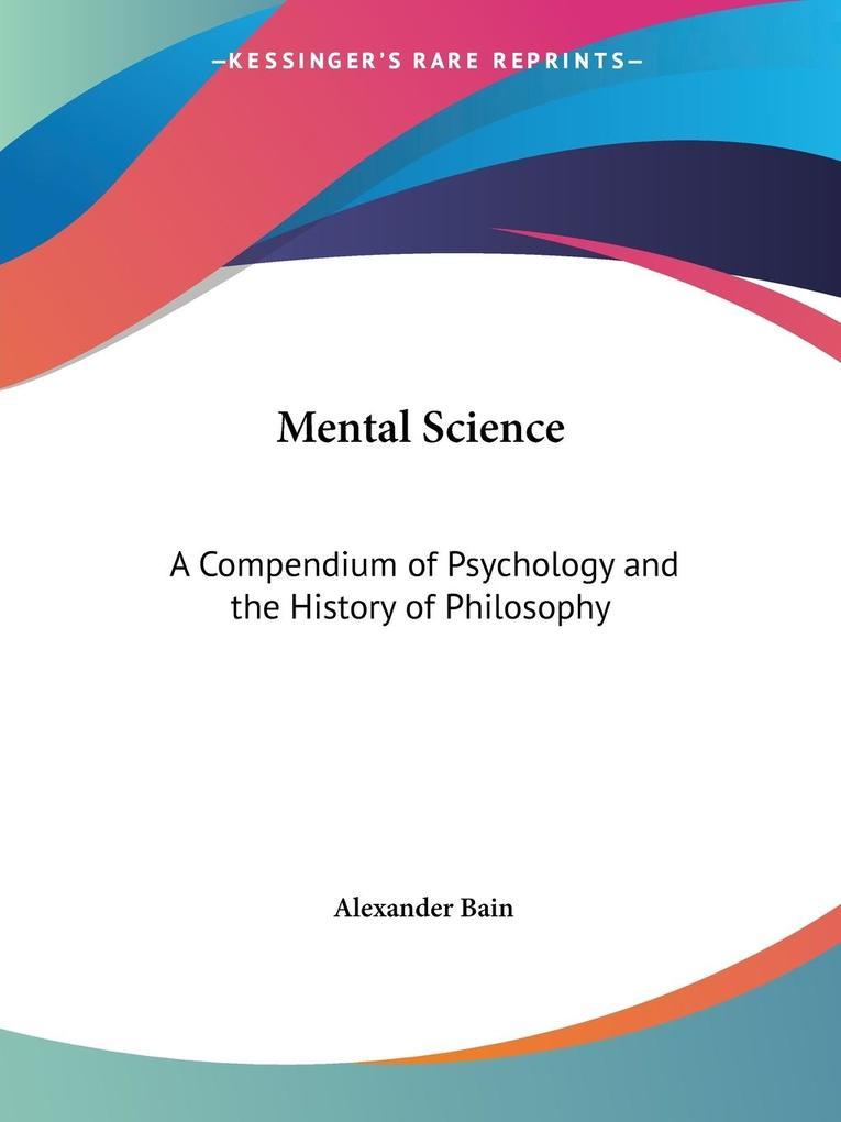 Mental Science als Taschenbuch