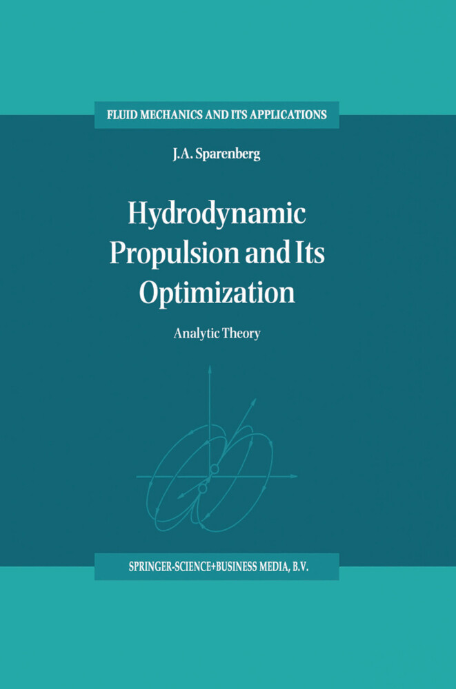Hydrodynamic Propulsion and Its Optimization als Buch