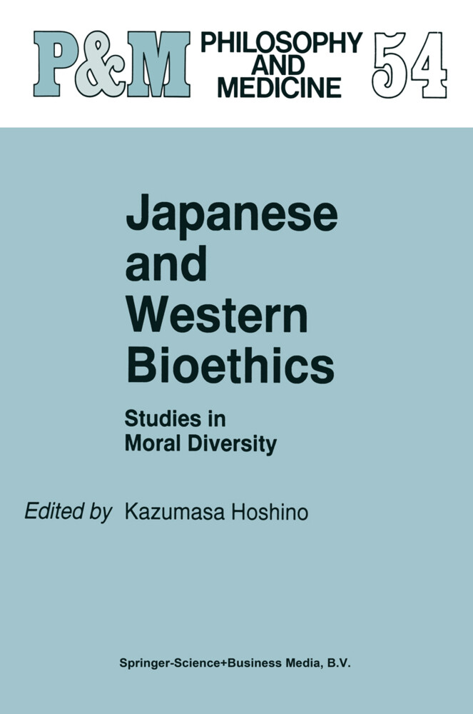 Japanese and Western Bioethics als Buch