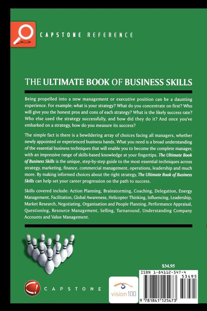 The Ultimate Book of Business Skills: The 100 Most Important Techniques for Being Successful in Business als Buch