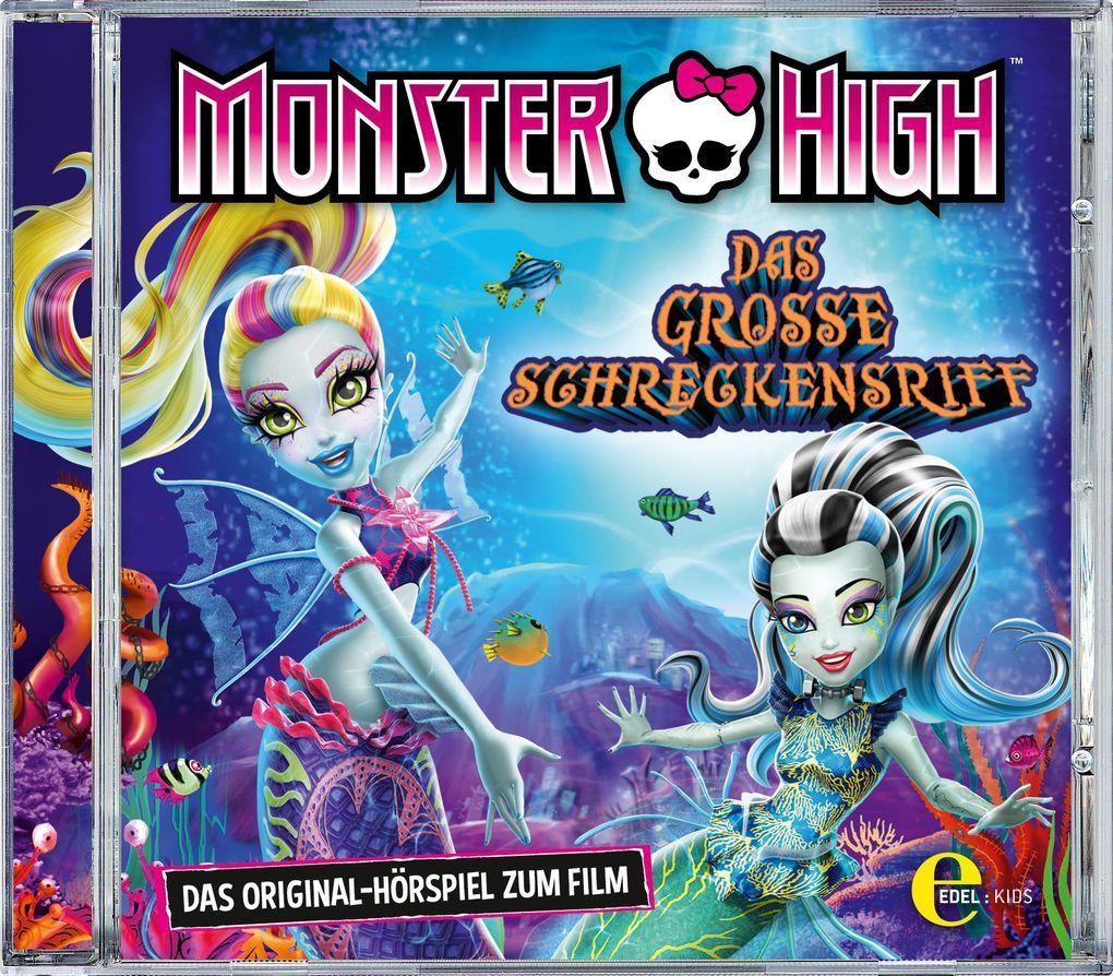 Monster High: Schreckensriff/CD als Hörbuch CD von