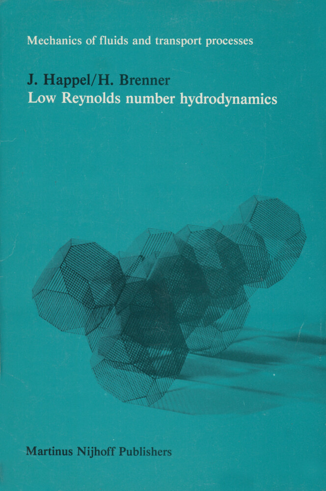 Low Reynolds number hydrodynamics als Buch