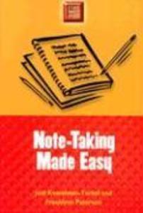 Note-Taking Made Easy als Taschenbuch
