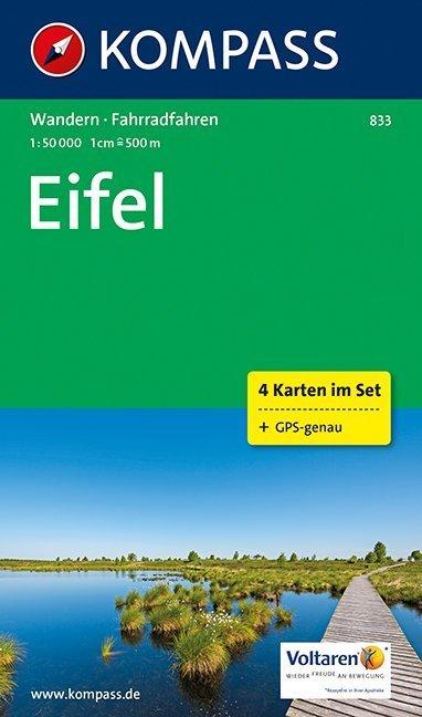 Eifel 1:50 000 als Buch von