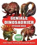 Geniale Dinosaurier Sticker-Buch