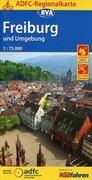ADFC-Regionalkarte Freiburg und Umgebung 1:75.000