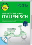 PONS Wortschatz-Hörtraining Italienisch mit Begleitheft und MP3-CD