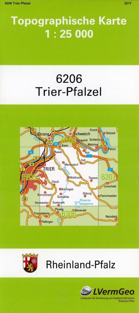 Trier-Pfalzel 1 : 25 000 als Buch von