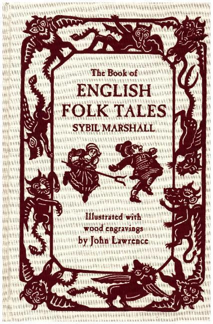 The Book of English Folk Tales als Buch von Syb...