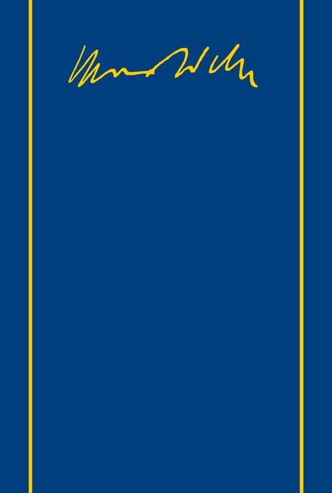 Schriften und Reden IV (1892 - 1899). Landarbeiterfrage, Nationalstaat und Volkswirtschaftspolitik als Buch