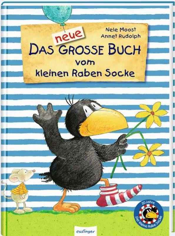 Der kleine Rabe Socke: Das neue große Buch vom kleinen Raben Socke - Jubiläums-Relaunch als Buch