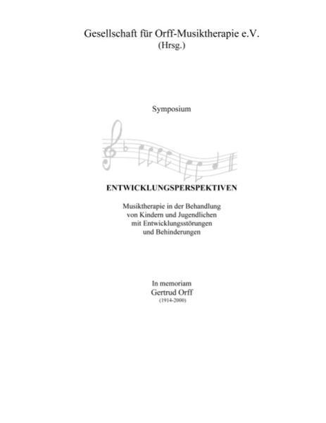 Symposium Entwicklungsperspektiven als Buch