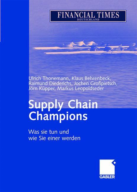 Supply Chain Champions als Buch