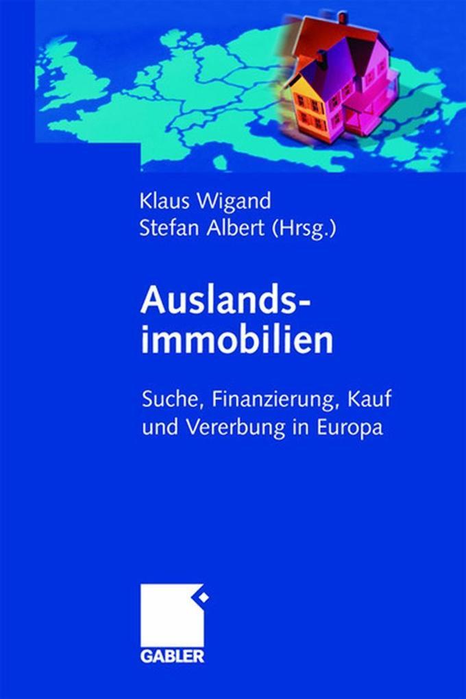 Auslandsimmobilien als Buch