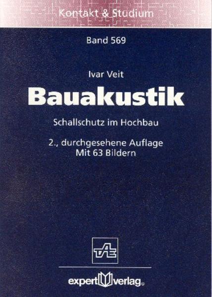 Bauakustik als Buch
