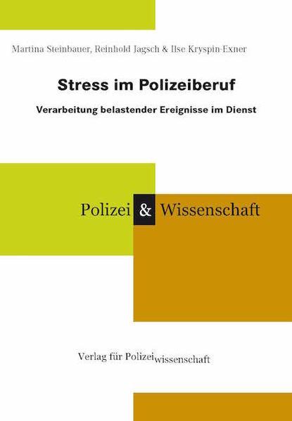 Stress im Polizeiberuf als Buch