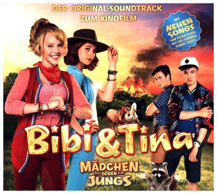 bibi tina der soundtrack zum 3 kinofilm m dchen gegen jungs cd. Black Bedroom Furniture Sets. Home Design Ideas