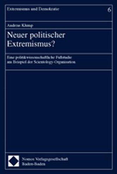 Neuer politischer Extremismus? als Buch
