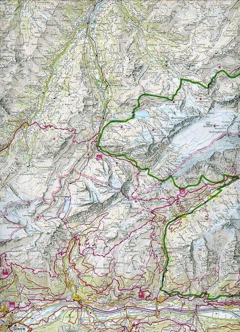 KuF Wallis Holiday Map 1 : 120 000 als Buch