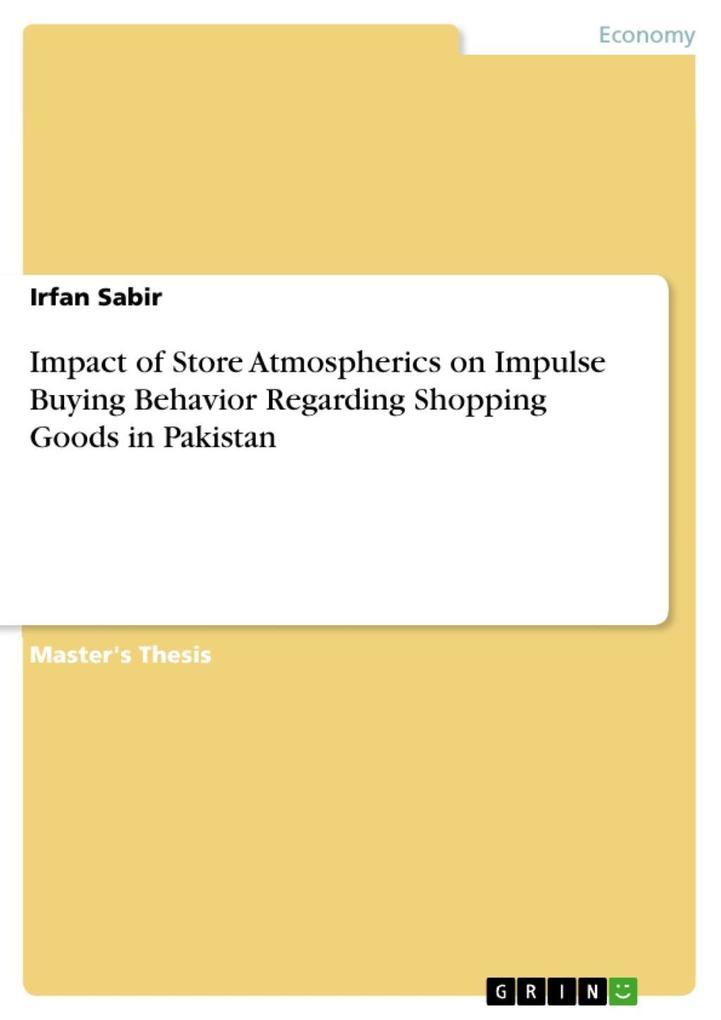 Impact of Store Atmospherics on Impulse Buying ...