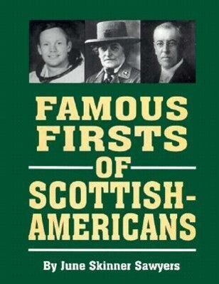 Famous Firsts of Scottish-Americans als Buch