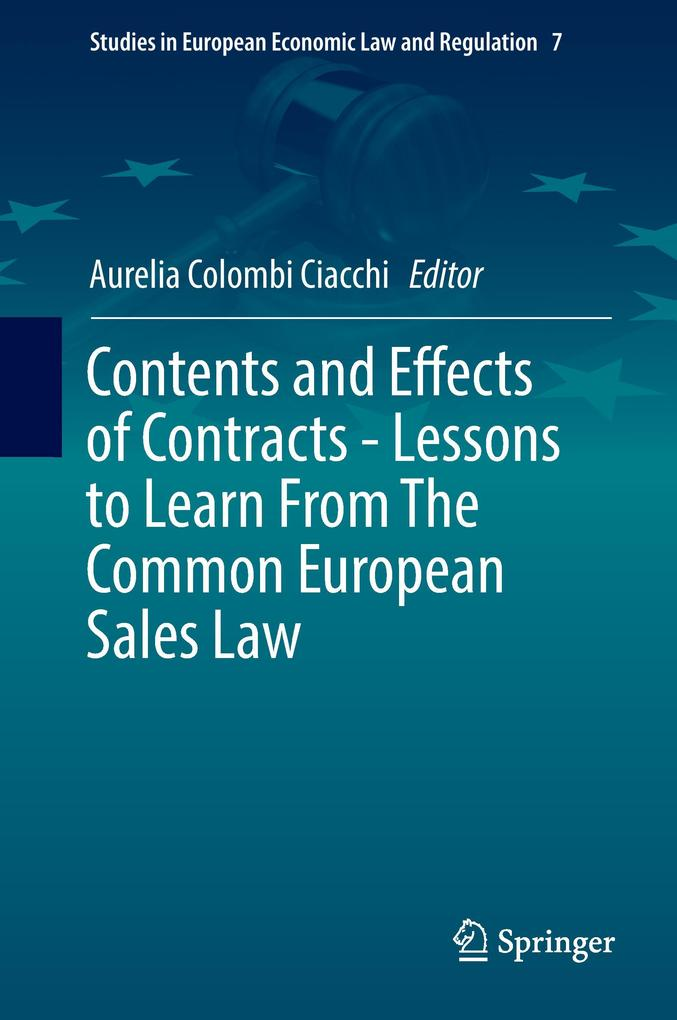 Contents and Effects of Contracts -Lessons to L...