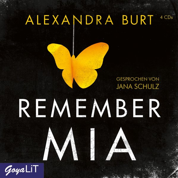 Remember Mia als Hörbuch CD von Alexandra Burt
