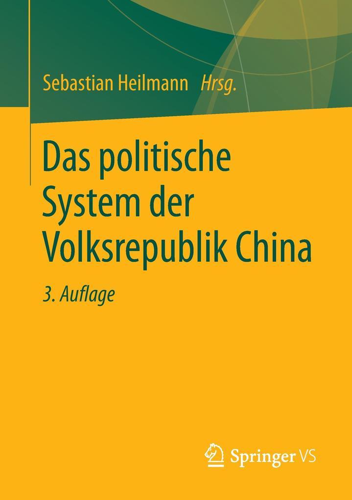 Das politische System der Volksrepublik China a...