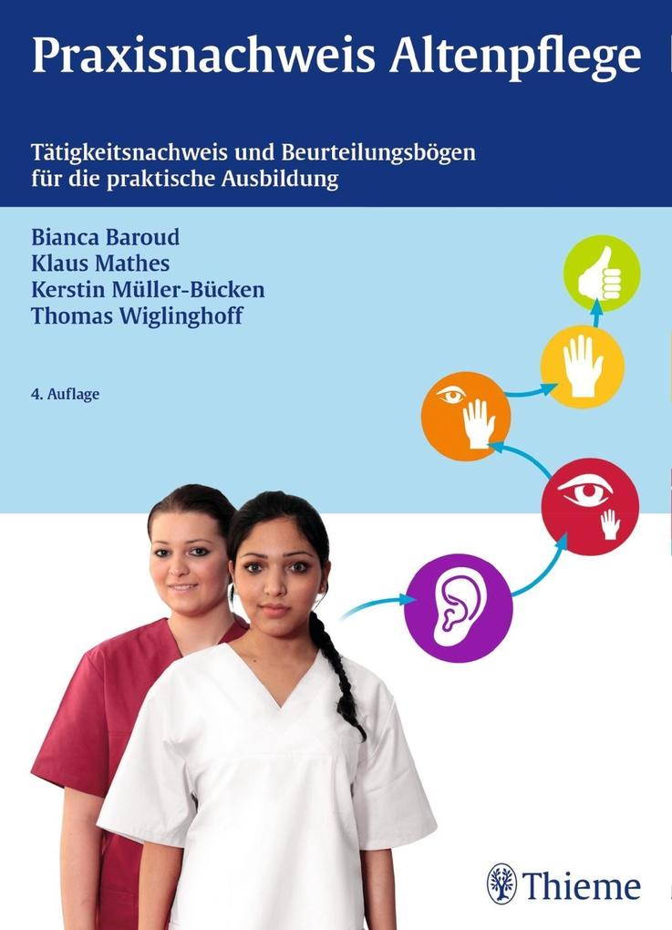Praxisnachweis Altenpflege als Buch