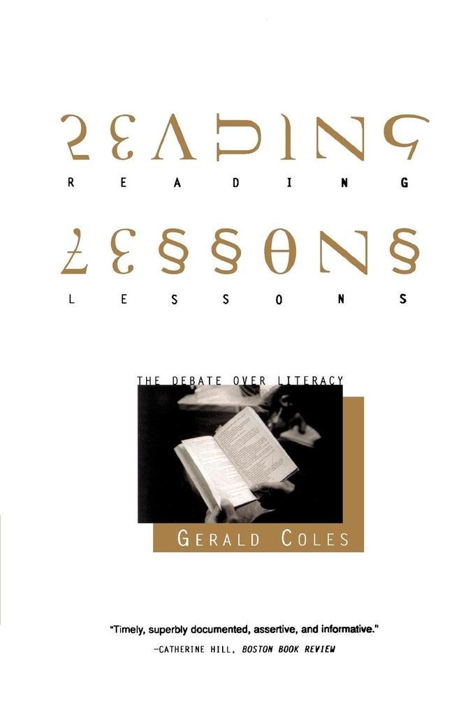 Reading Lessons als Taschenbuch