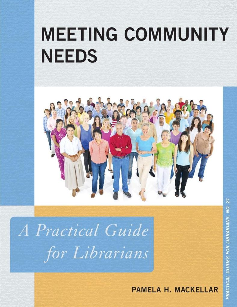 Meeting Community Needs als eBook Download von ...
